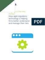 RegTech is the New FinTech