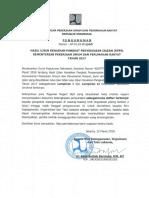 Hasil Ujian Kenaikan Pangkat Penyesuaian Ijazah (KPPI) Kementerian PUPR Tahun 2017