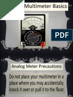 Analog Multimeter Basics
