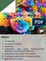 Taller Sanación con Rosas