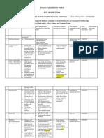 Risk Assesment Form Update