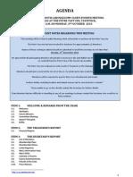 PLC 101004 Agenda