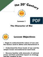 L01-Character of War