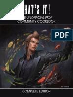Unofficial FFXV Community Cookbook v4.0