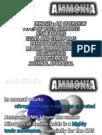 Ammonia Intoxication.ppt