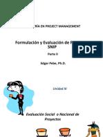 Curso Formulacion y Evaluacion de Proyectos Snip - Parte 2