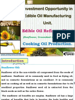 Investment Opportunity in Edible Oil Manufacturing Unit