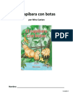 reading guide - el capibara con botas