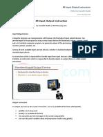 #4 Input Output Instruction