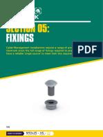 Vantrunk 2018 Cat 5 Fixings