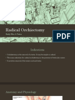 Radical Orchiectomy DUR