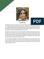 Arundhati Roy