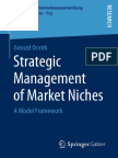 Strategic Management of Market Niches a Model Framework