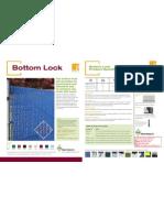 Pexco PDS Bottom Lock Product Sheet