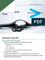 SAP ERP Entrada de Fretes