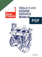 194-264 VSG411 Service Manual Early