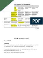 darwyn - bowing technique mini report rubric