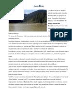 """Lacu Rosu - Barajul de La Bicaz Si Lacul Artificial """"Izvorul Muntelui"""""""