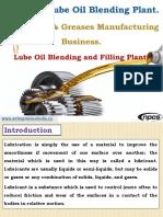 Grease & Lube Oil Blending Plant