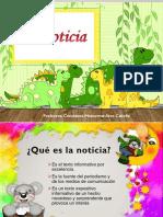 La Noticia (Estructura y Proposito) CLASE 1