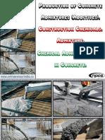 Production of Concrete Admixtures (Additives). Construction Chemicals.