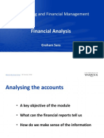Financial Analysis – Ratios 1 24 October