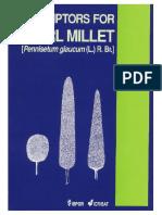 Descriptors for Pearl Millet Pennisetum Glaucum L. R. Br. 157