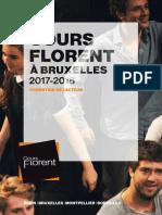 Cours Florent Brochure Bruxelles 2017 2018