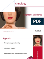 Croda Kiss Technology-Pigment Wetting
