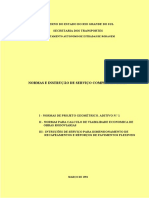 Normas e Instruções de Serviços Complementares