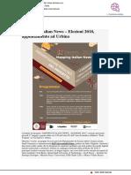 Mapping Italian News, Elezioni 2018, appuntamento a Urbino - Adriaticaeu.eu, 15 maggio 2018
