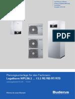 Buderus Split Planning Guide German