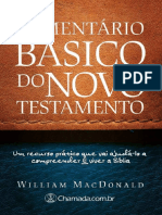 Comentario Basico Do Novo Testa - William MacDonald
