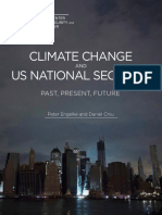 Climate Change and US National Security