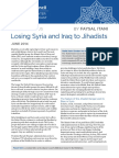Losing Syira and Iraq to Jihadists