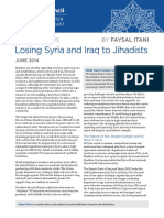 Losing Syira and Iraq to Jihadists