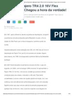 Oficina Brasil _ Avaliação Do Reparador _ Mitsubishi Pajero TR4 2.0 16V Flex Automática_ Chegou a Hora Da Verdade!