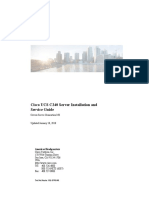 Cisco UCS C240 Server Installation and Service Guide