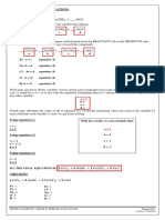 Balancing Chemical Equations and Limiting Reactants