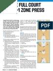 2-2-1 Full Court Zone Press