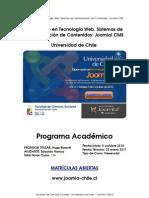 Diplomado Joomla Universidad de Chile - Joomla-chile.cl