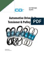 Drive Belts Applications Guide Australia Jul 16
