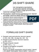 Analisis Shift Share Lq