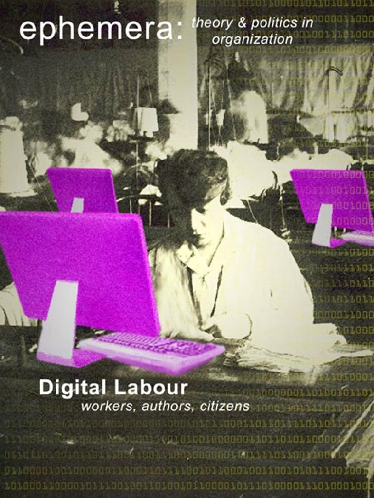 Digital Labour Structuring Feeling Option Finance Business Ombre Gold Circuit Board Computer Geek Nerd Round Clock