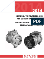 2014 DENSO RV HVAC Service Parts Catalog