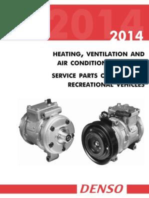 2014 DENSO RV HVAC Service Parts Catalog | Hvac | Thermostat on
