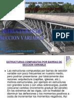 Estructuras de Seccion Variable