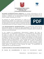 Administrativo II Tema 08 Los Recursos Administrativos