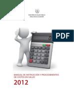 Manual de Costos Actualizados 2013