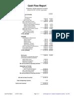 Cashflow Details